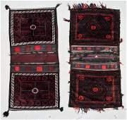 2 Vintage Beluch Saddlebag Pairs