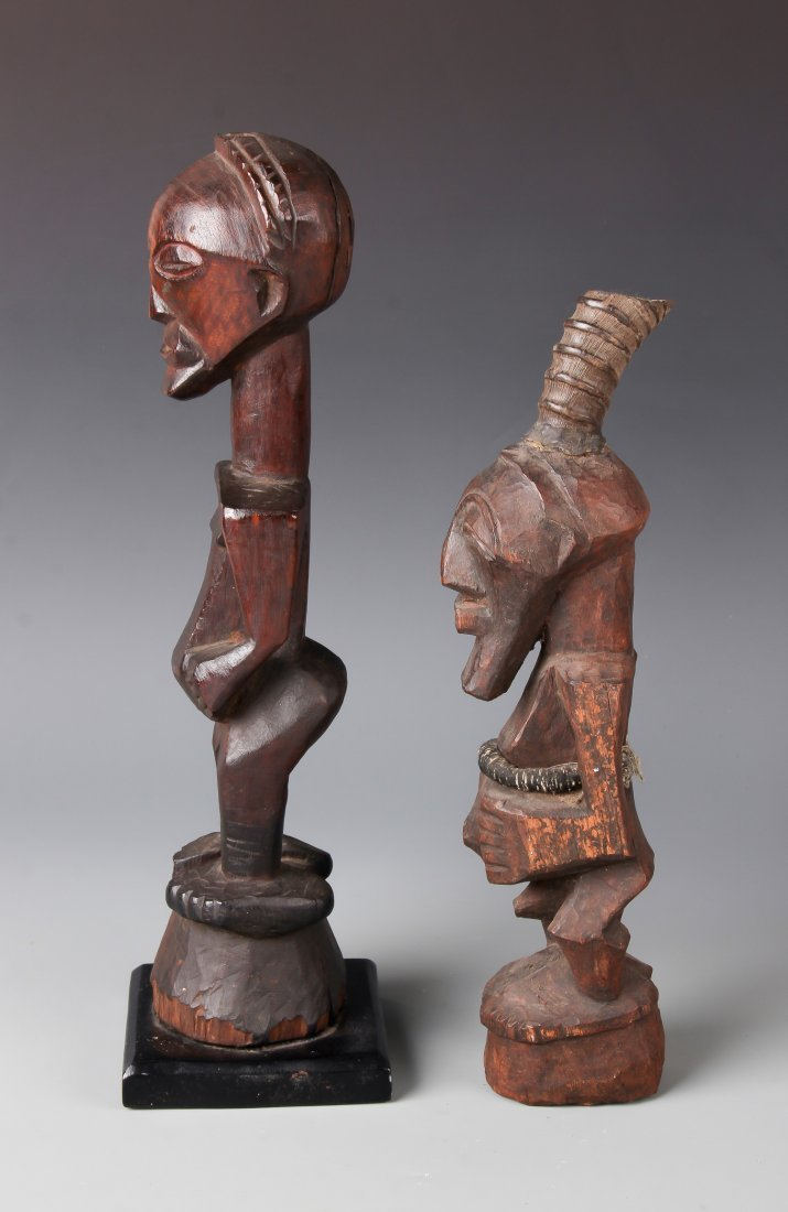 2 Songye African Figures - 2