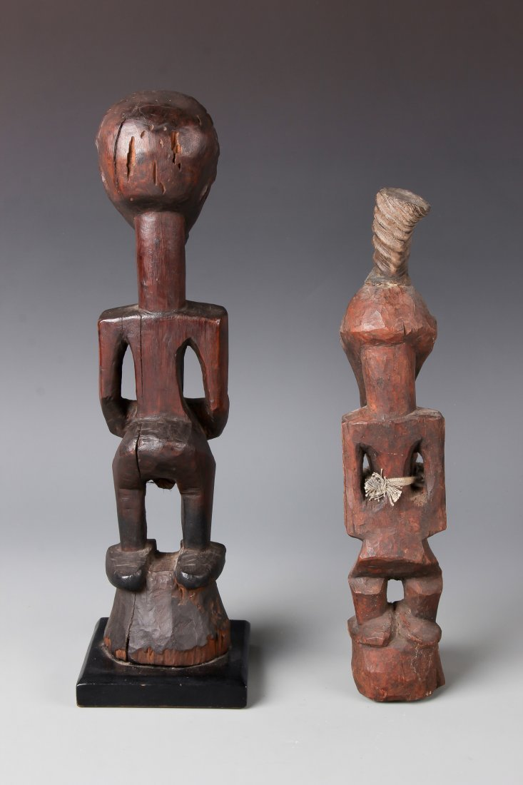 2 Songye African Figures - 3