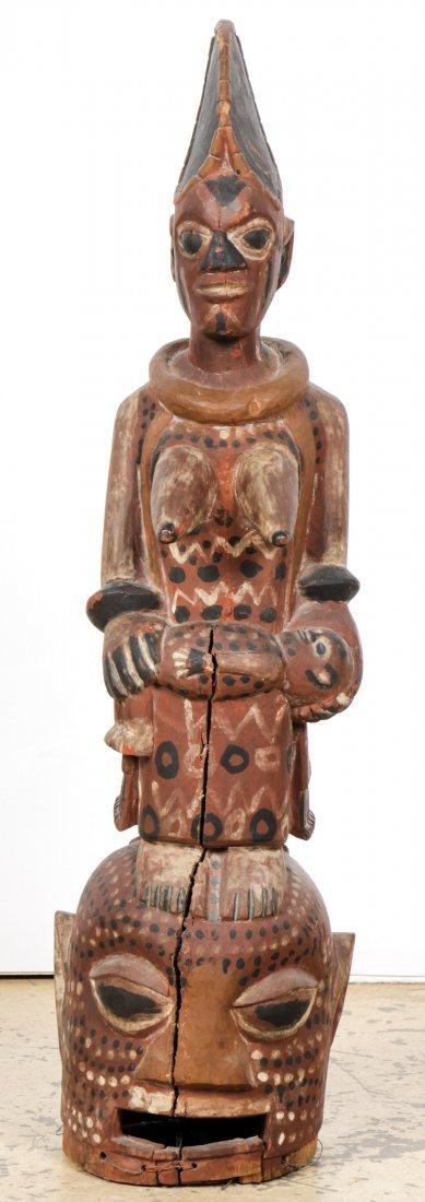Yoruba Epa Headdress