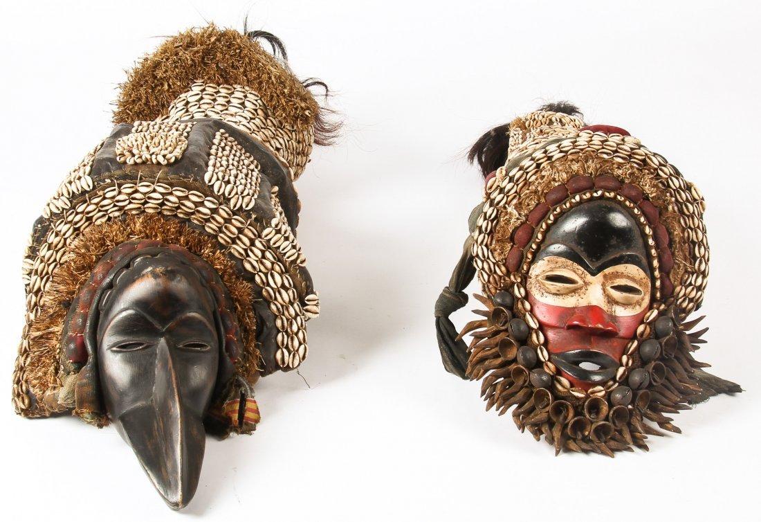 2 Dan Headdresses