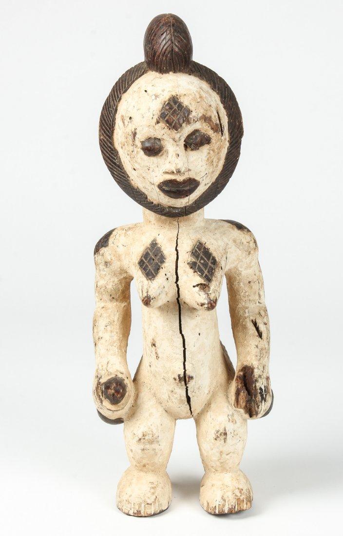 African Carved Wood Punu Figure