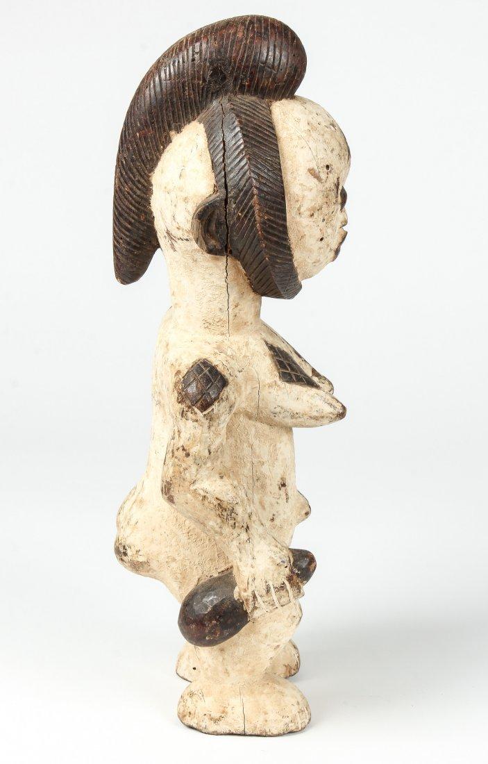 African Carved Wood Punu Figure - 2
