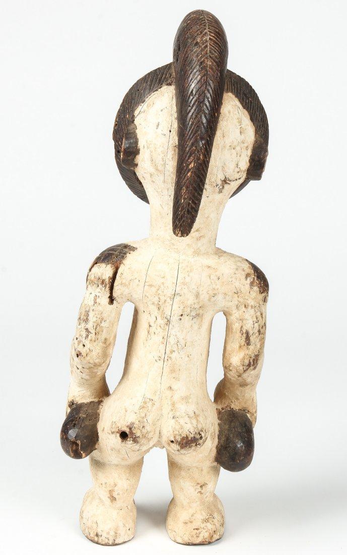 African Carved Wood Punu Figure - 3