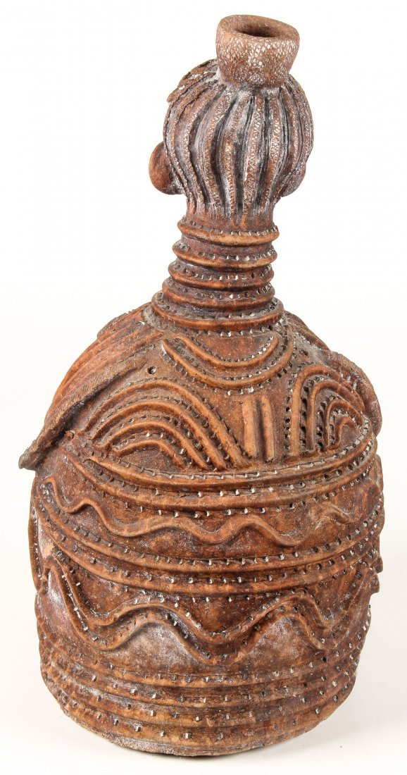 Large African Koma Earthenware Vessel - 2
