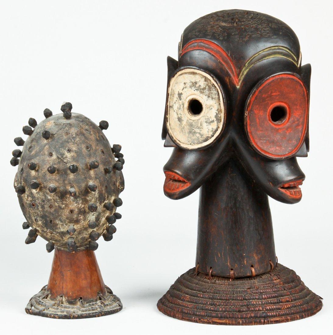 2 African Headdresses - 2
