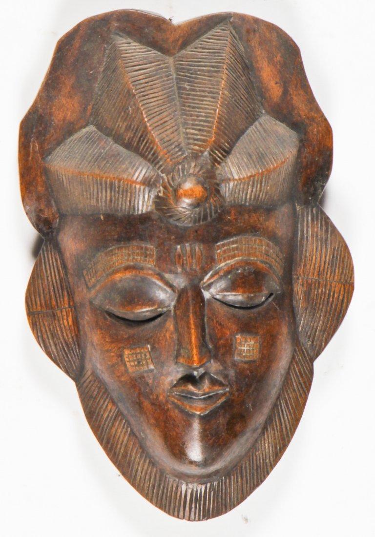 4 African Masks - 4