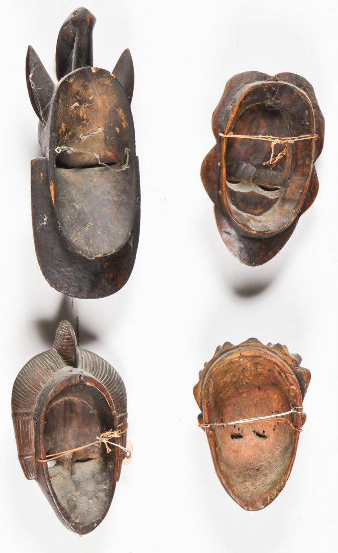 4 African Masks - 6
