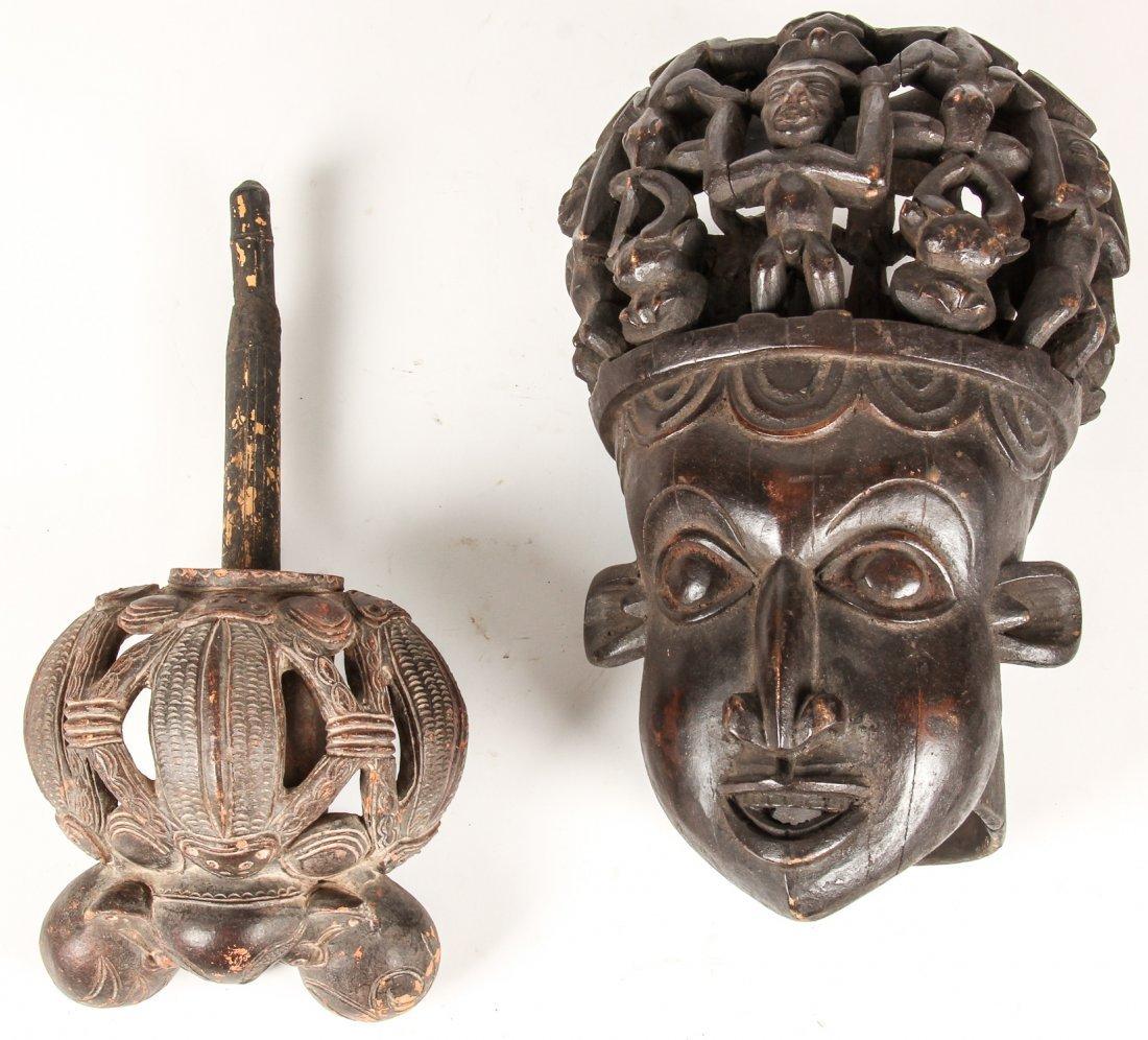 2 Bamun Bamileke Artifacts