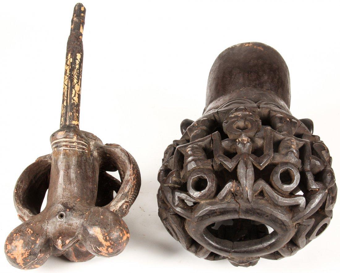 2 Bamun Bamileke Artifacts - 3