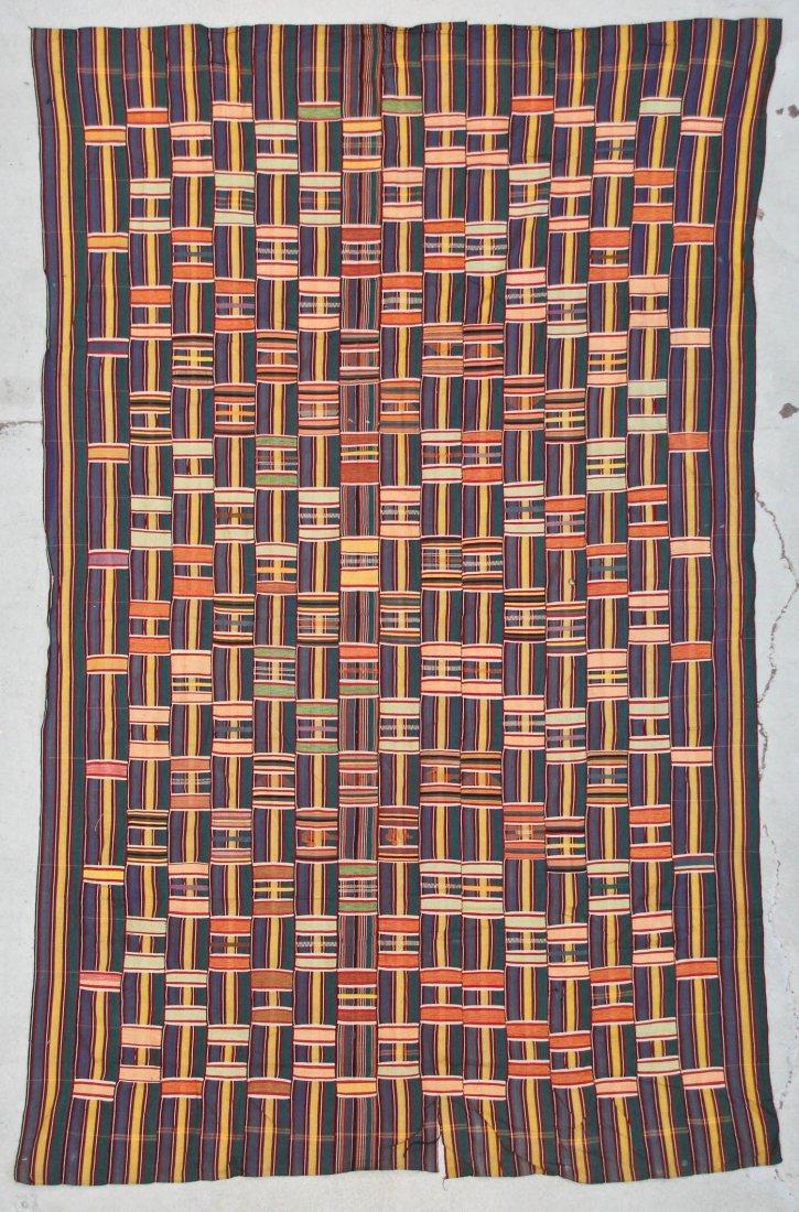 Semi-Antique African Ewe Cloth