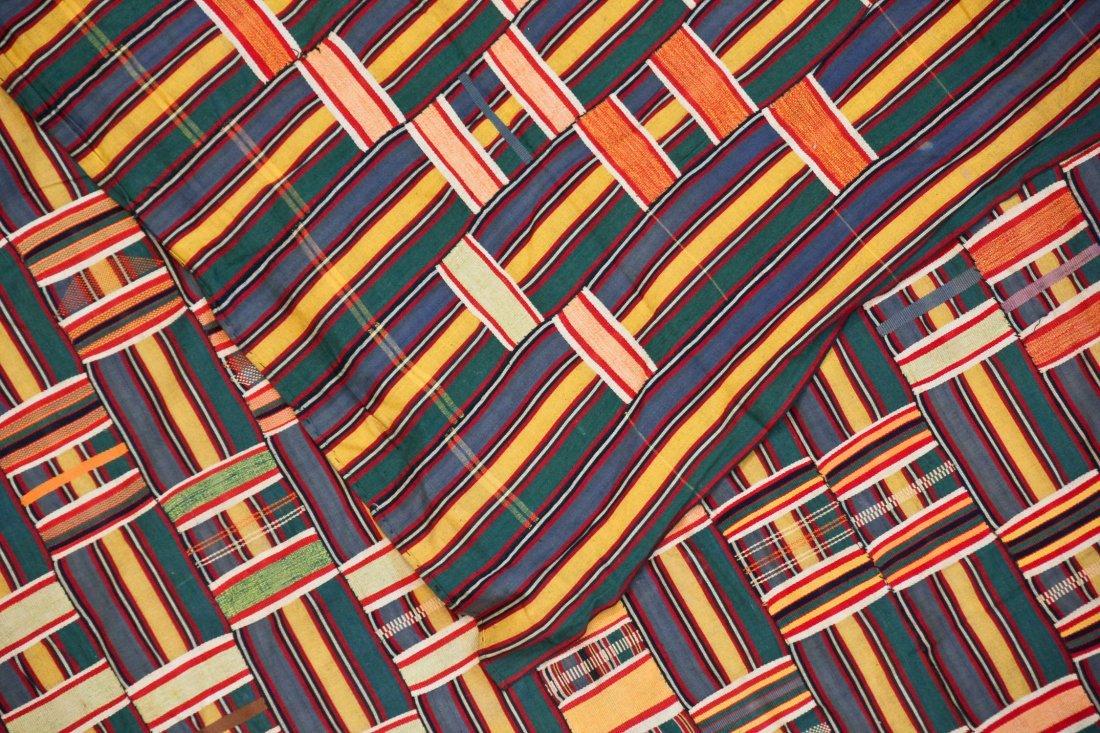 Semi-Antique African Ewe Cloth - 3