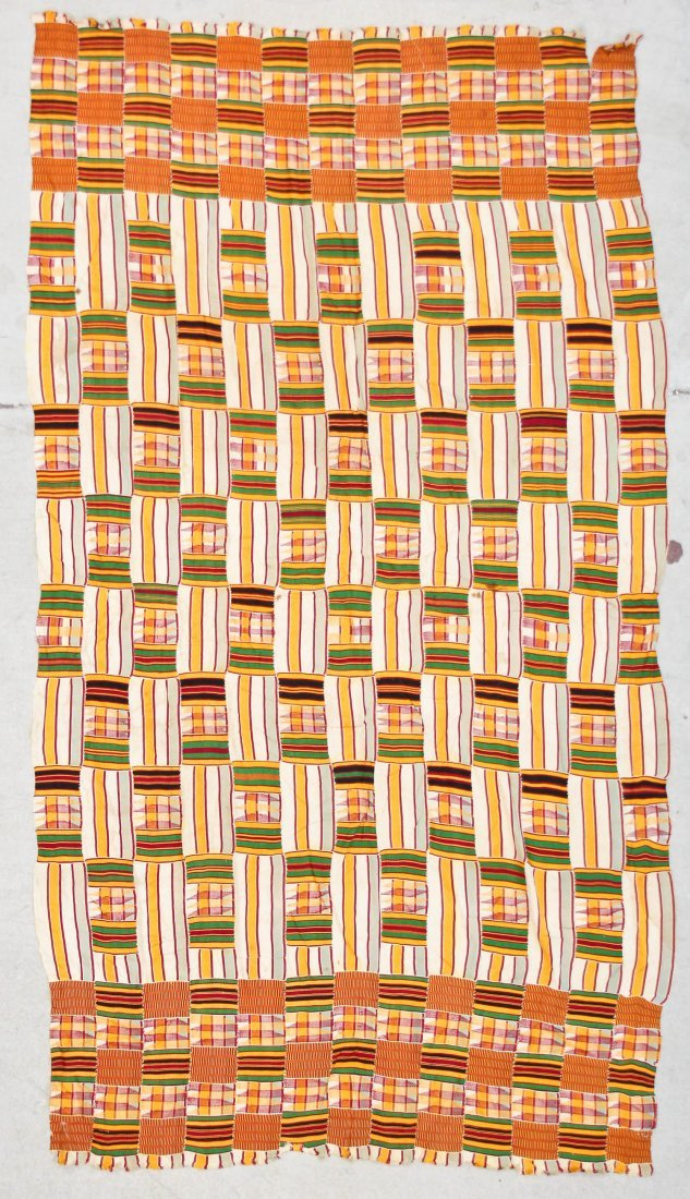 Semi-Antique African Kente Cloth