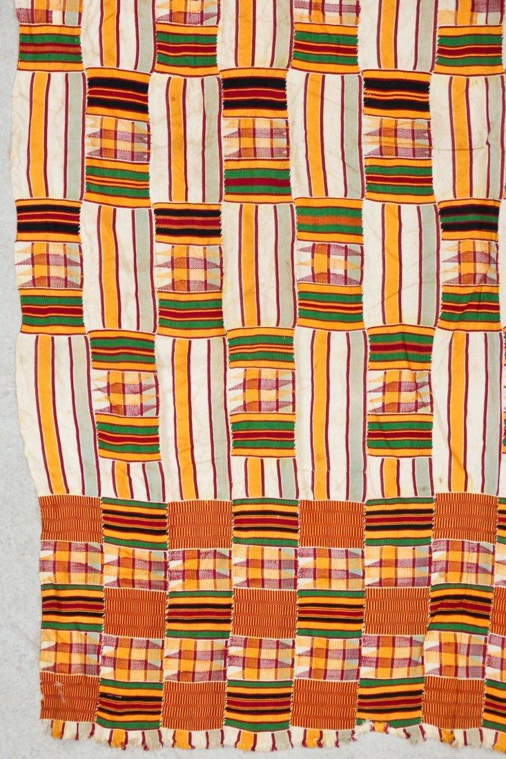 Semi-Antique African Kente Cloth - 2