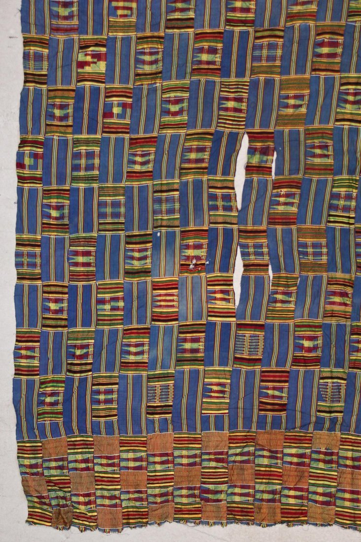 Semi-Antique African Kente Cloth - 2