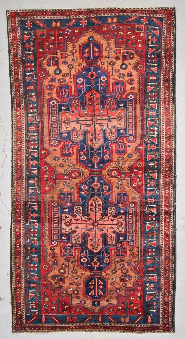 Antique West Persian Rug: 5'2'' x 9'10'' (157 x 300 cm)