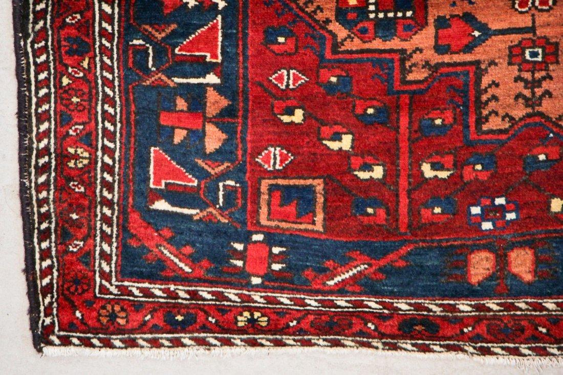 Antique West Persian Rug: 5'2'' x 9'10'' (157 x 300 cm) - 3