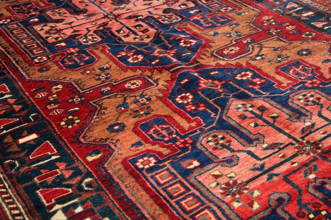 Antique West Persian Rug: 5'2'' x 9'10'' (157 x 300 cm) - 4