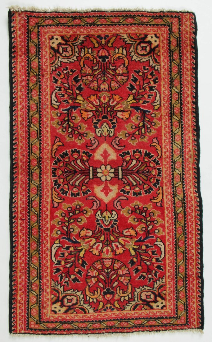 Semi-Antique Hamadan Rug: 2'1'' x 3'6'' (64 x 107 cm)