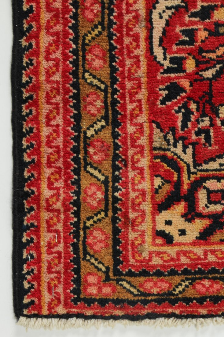 Semi-Antique Hamadan Rug: 2'1'' x 3'6'' (64 x 107 cm) - 2
