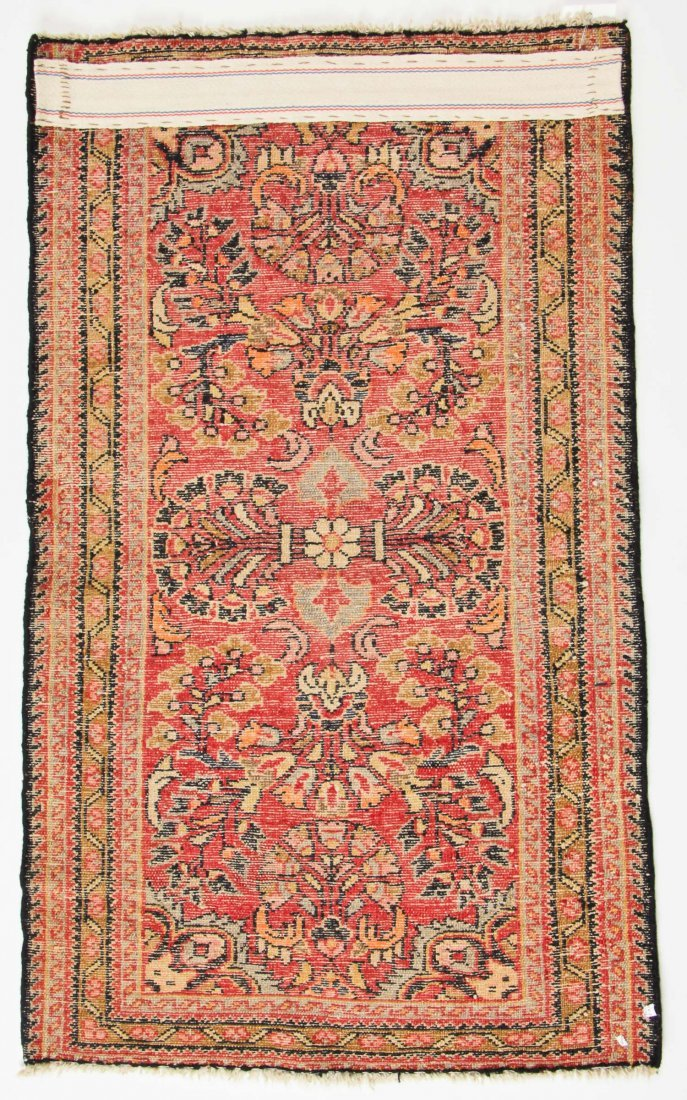 Semi-Antique Hamadan Rug: 2'1'' x 3'6'' (64 x 107 cm) - 6