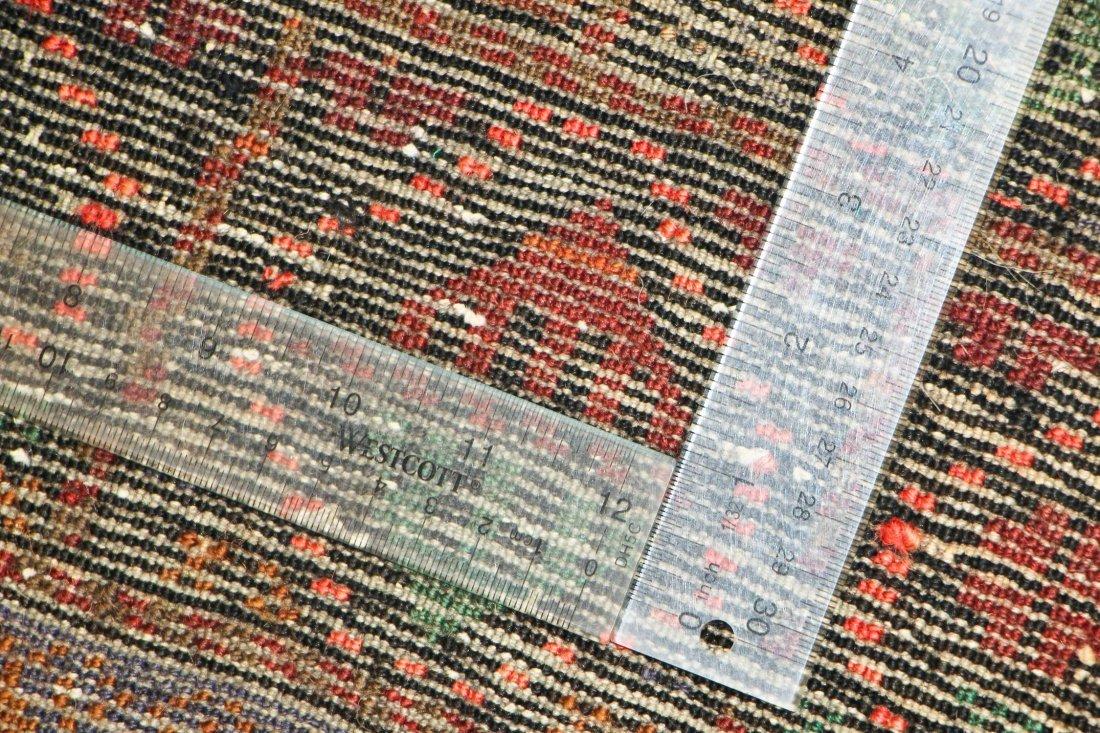 Vintage Beluch Rug: 4'2'' x 6'6'' (127 x 198 cm) - 5