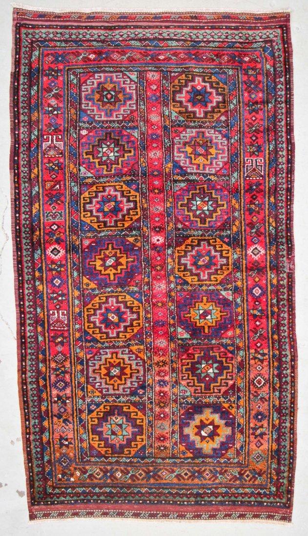 Vintage Central Asian Rug: 4'9'' x 8'4'' (145 x 254 cm)