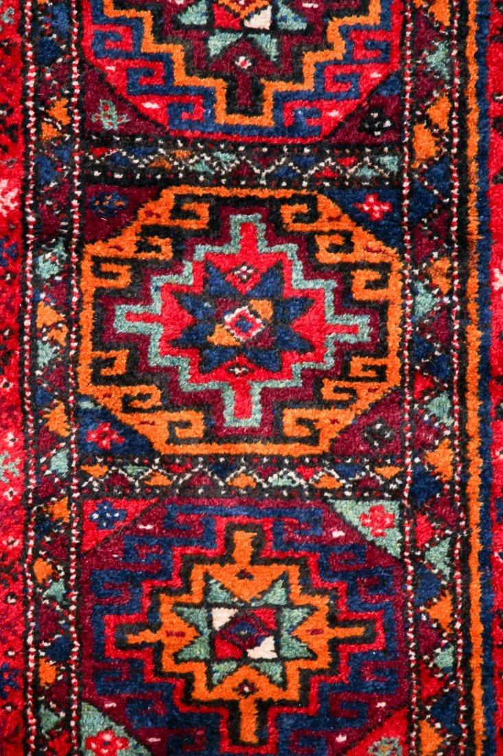 Vintage Central Asian Rug: 4'9'' x 8'4'' (145 x 254 cm) - 2