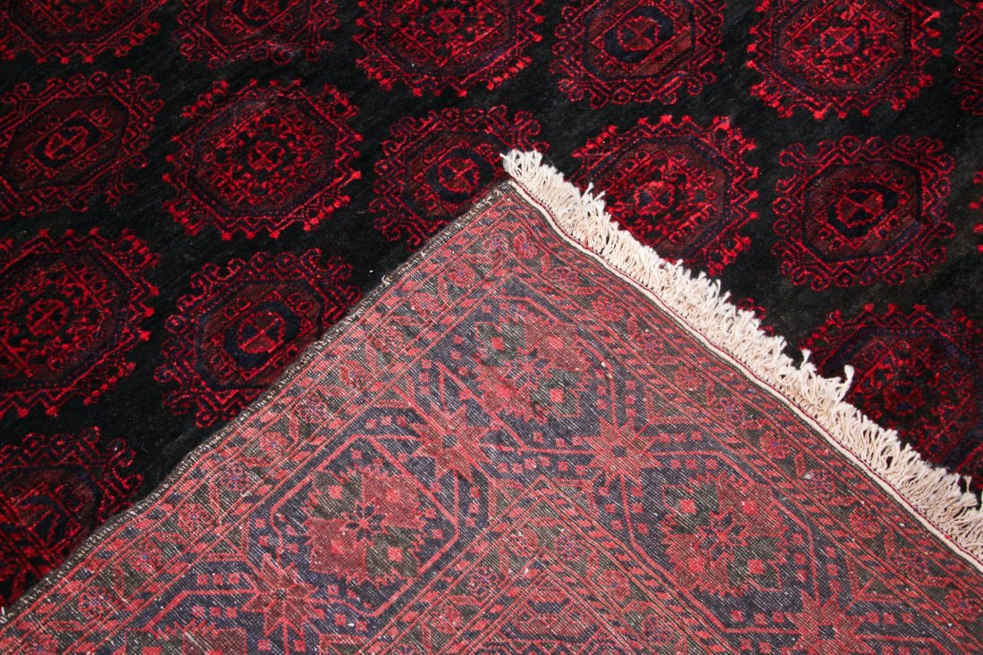 Semi-Antique Beluch Rug: 6'3'' x 8'10'' (191 x 269 cm) - 4