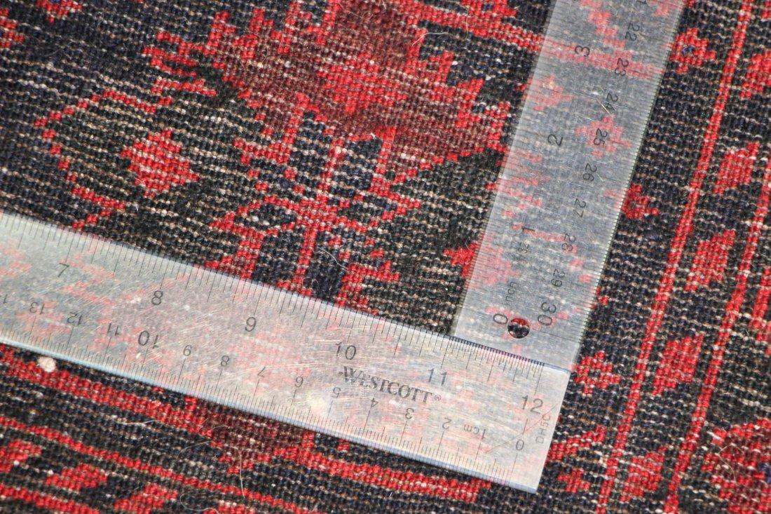 Semi-Antique Beluch Rug: 6'3'' x 8'10'' (191 x 269 cm) - 5