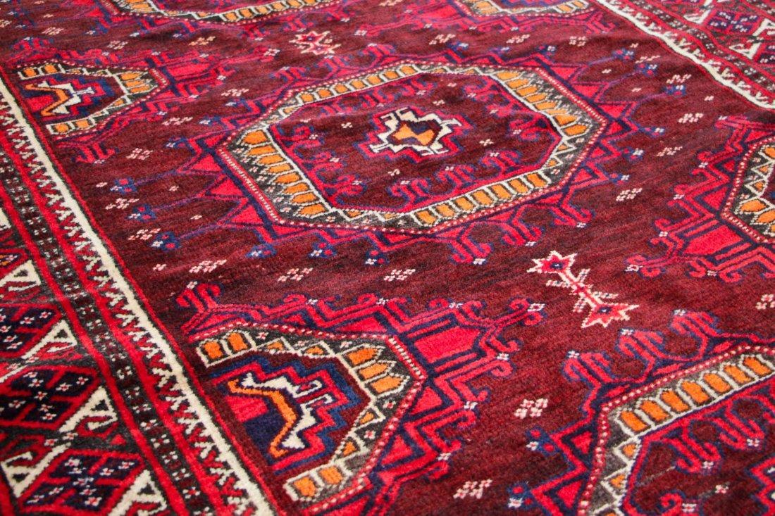 Vintage Turkmen Rug: 3'11'' x 6'0'' (119 x 183 cm) - 3