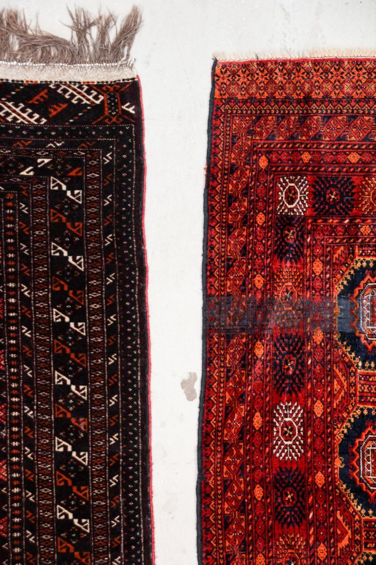 2 Semi-Antique Turkmen Rugs - 4