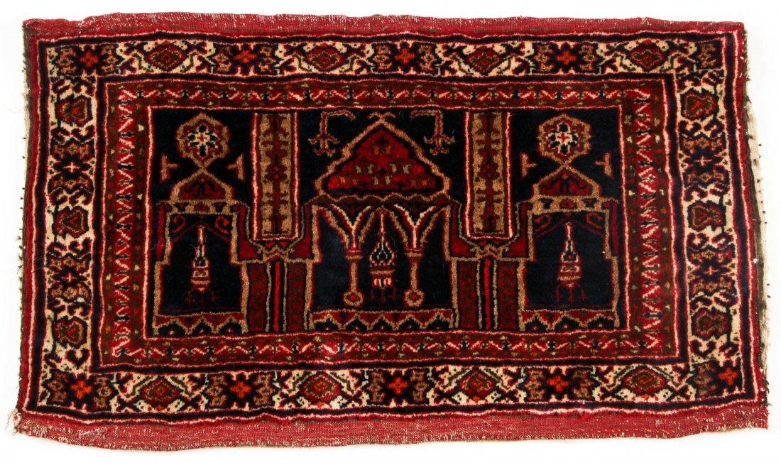 Pair of Semi-Antique Afghan Rugs - 2