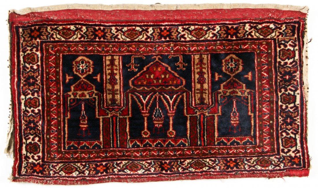 Pair of Semi-Antique Afghan Rugs - 3