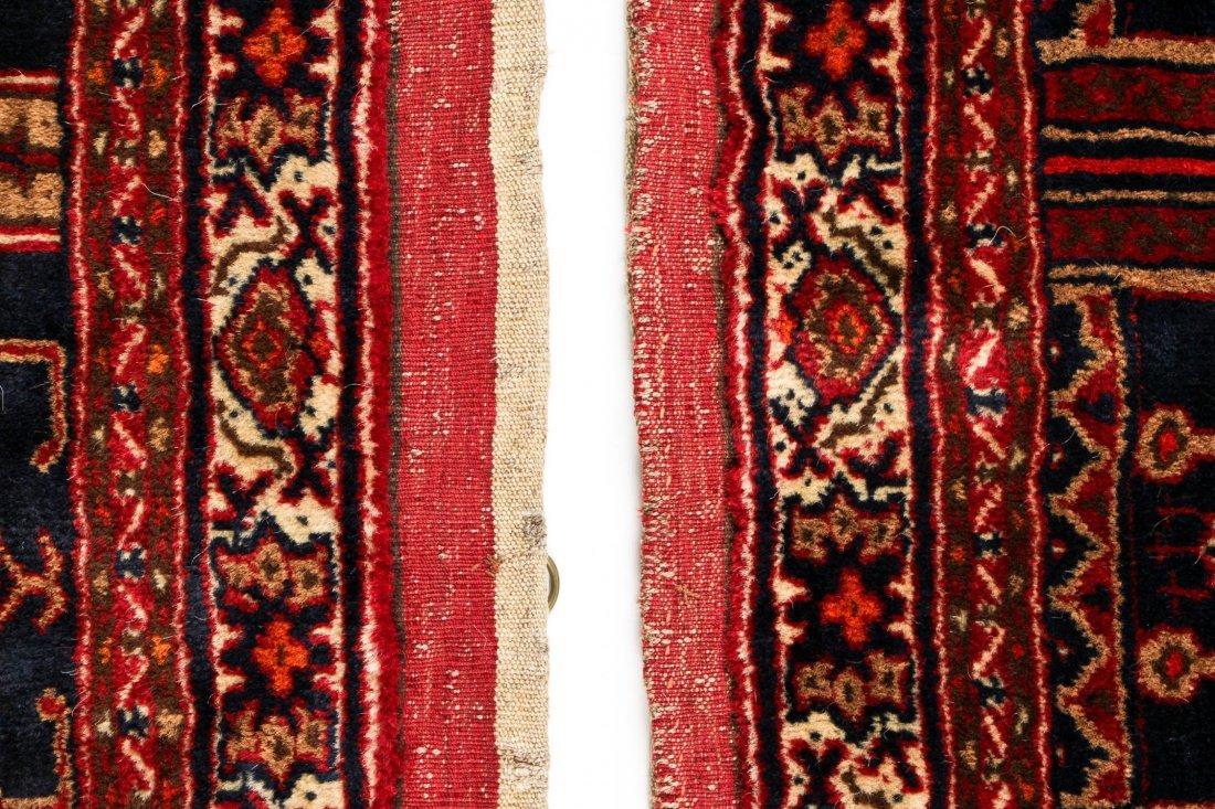 Pair of Semi-Antique Afghan Rugs - 4