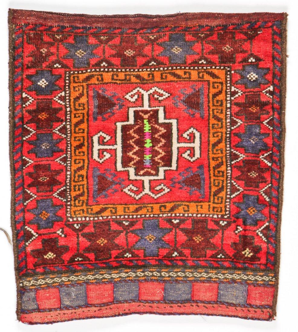 3 Vintage Afghan Rugs/Bagfaces - 2