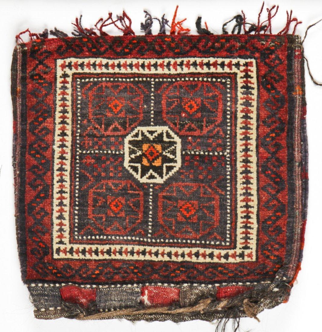 3 Vintage Afghan Rugs/Bagfaces - 3