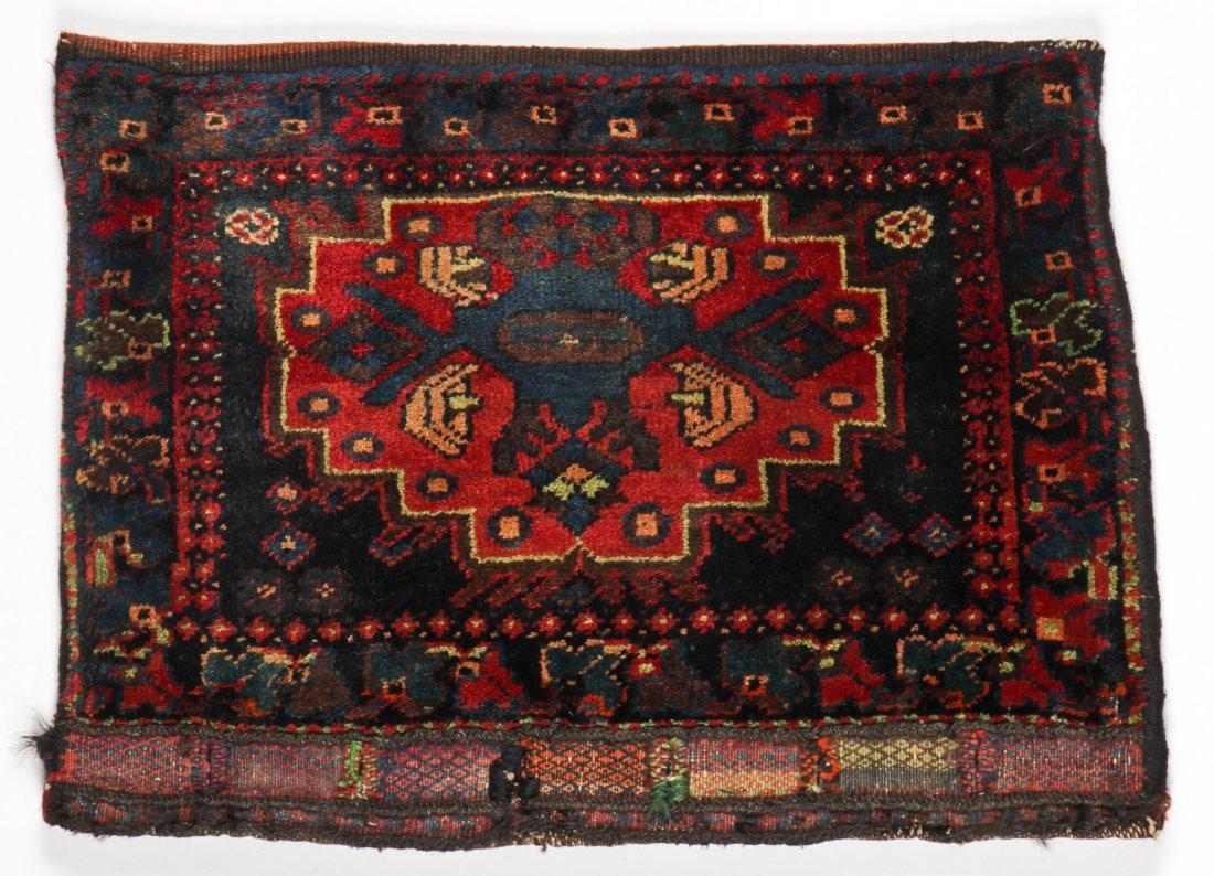3 Vintage Afghan Rugs/Bagfaces - 4