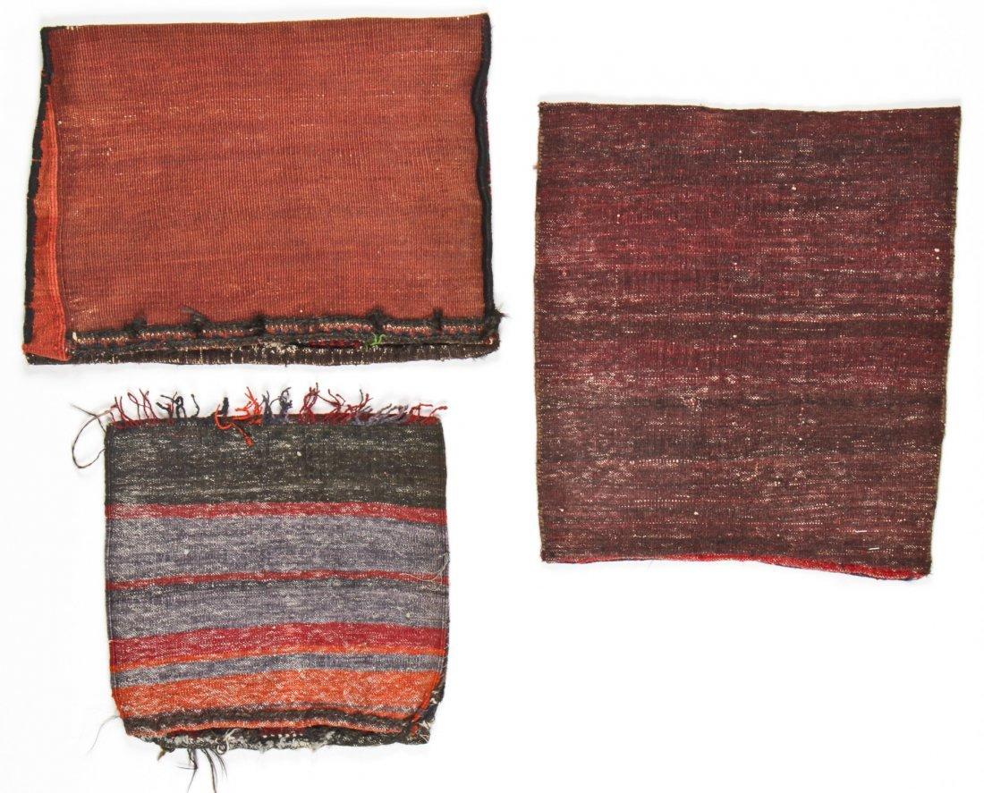 3 Vintage Afghan Rugs/Bagfaces - 5