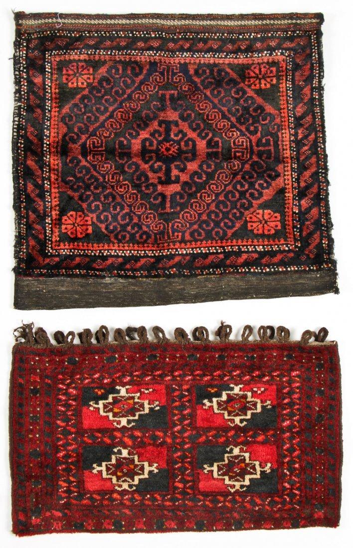 4 Semi-Antique Beluch Rugs, Afghanistan - 2