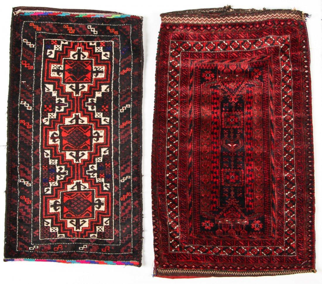 4 Semi-Antique Beluch Rugs, Afghanistan - 3