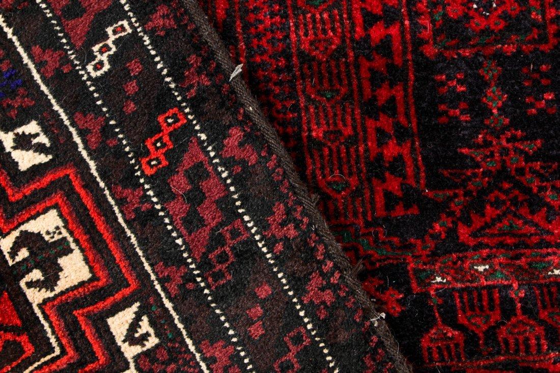 4 Semi-Antique Beluch Rugs, Afghanistan - 4