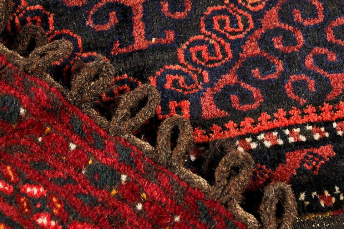 4 Semi-Antique Beluch Rugs, Afghanistan - 5