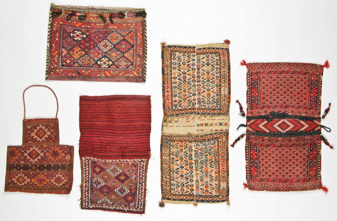 5 Semi-Antique Central Asian/Persian Trappings