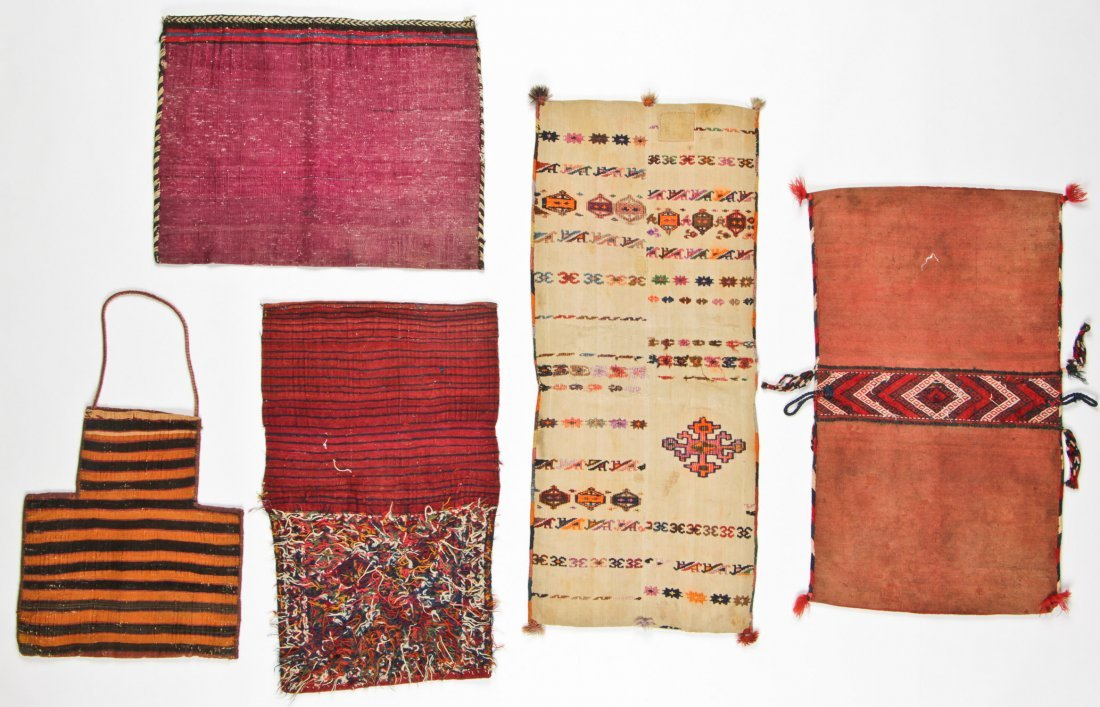 5 Semi-Antique Central Asian/Persian Trappings - 6
