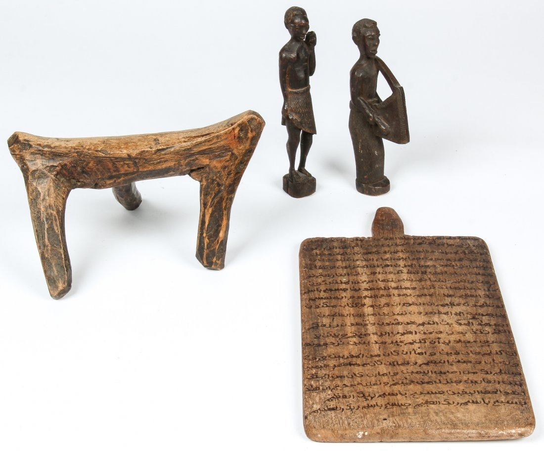 4 African Artifacts