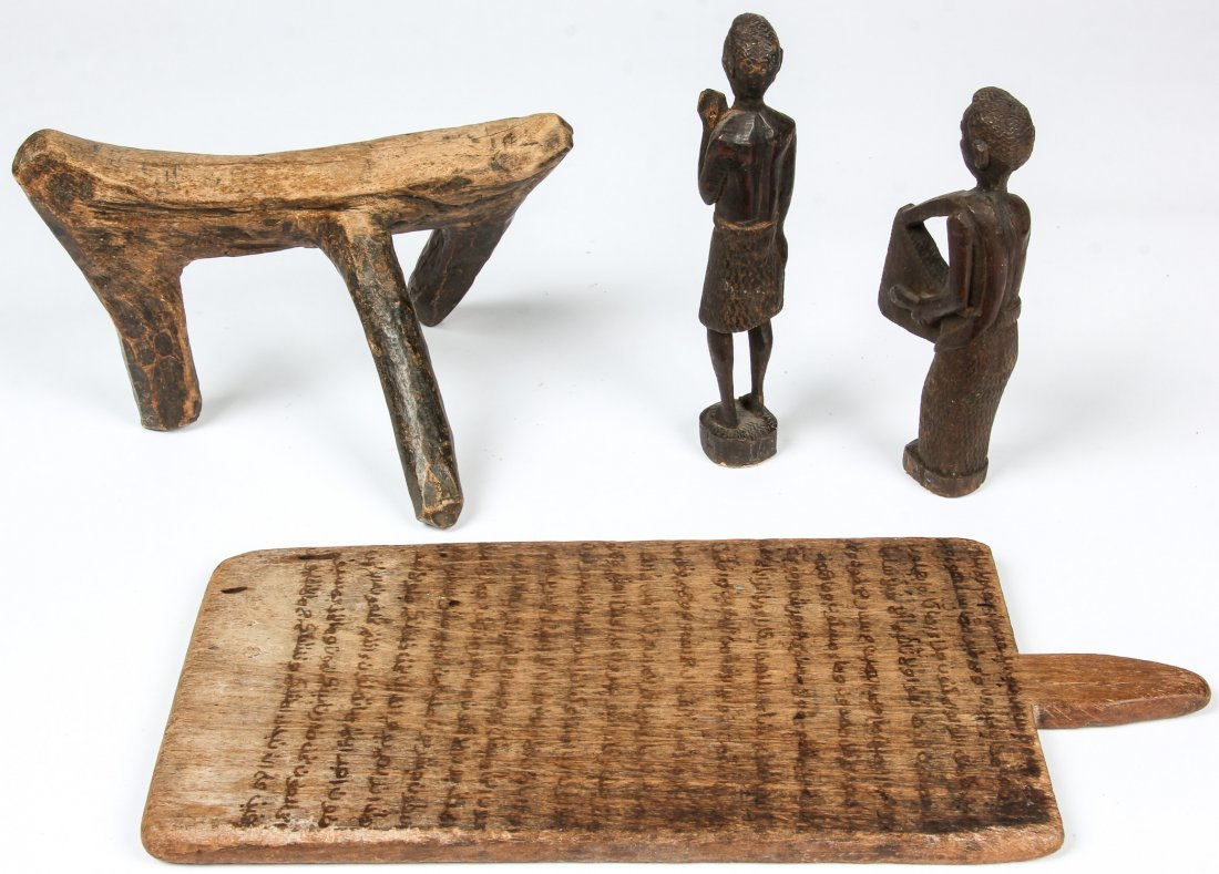 4 African Artifacts - 3
