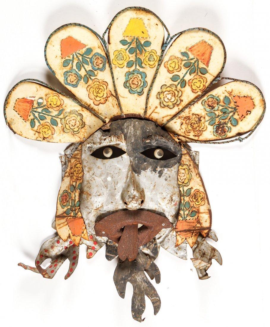 2 Folk Art Tin Works - 2
