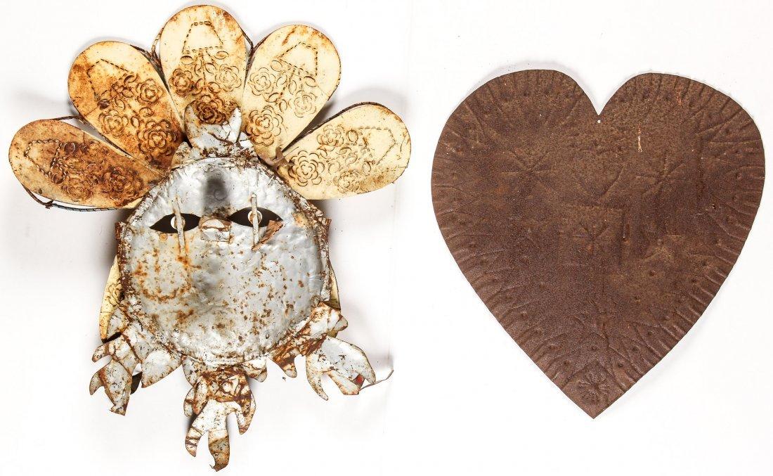 2 Folk Art Tin Works - 4