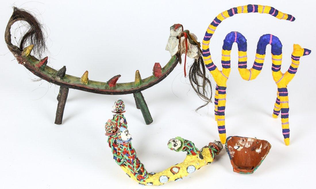 4 Mexican Alibrijes Creatures - 3